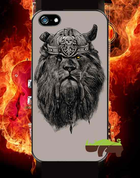 Rock чехол Лев-викинг