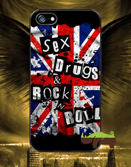 Rock чехол Секс,наркотики и рок-н-рол